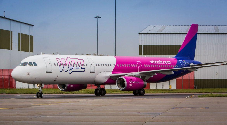 wizz air rekord új útvonal bázis Roma Fuimicino