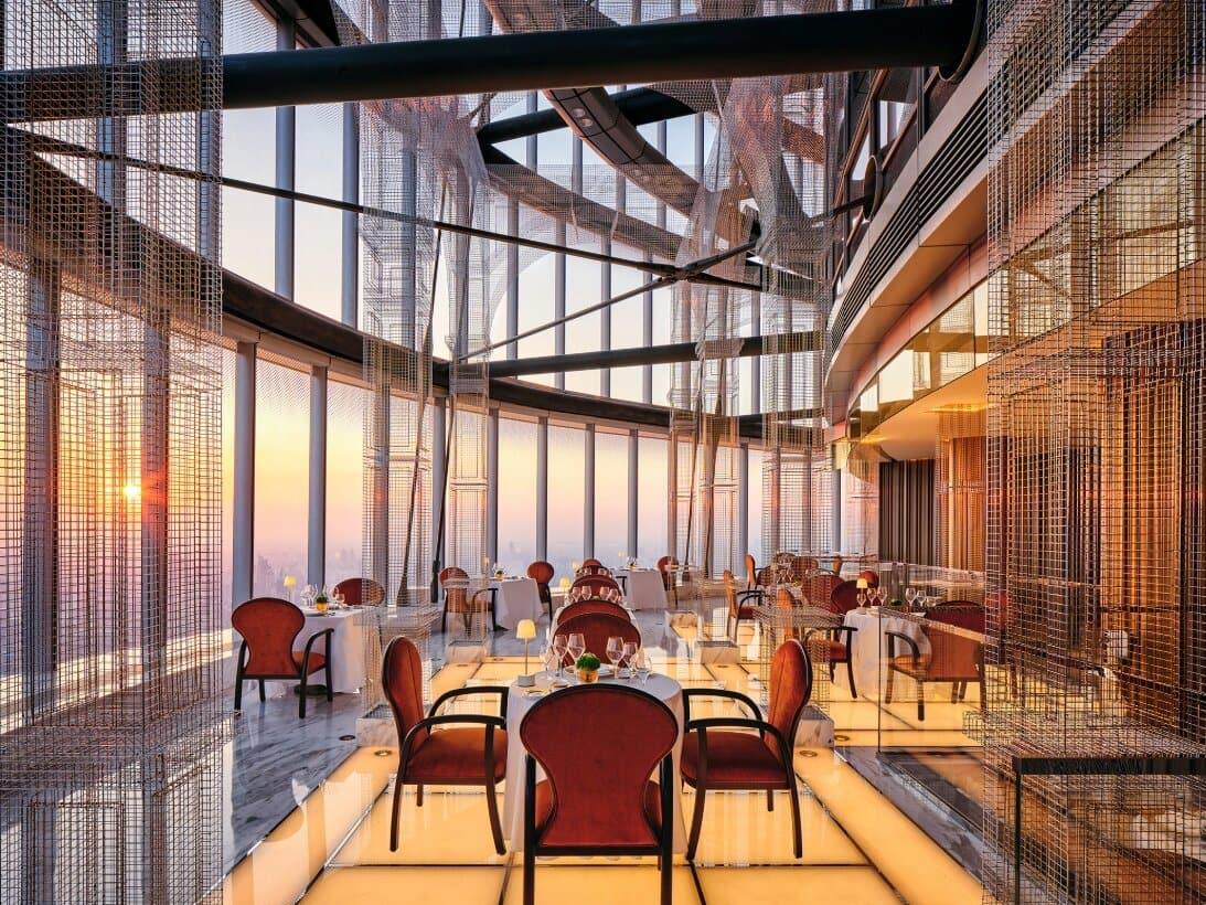 J Hotel Shanghai világ legmagasabb szállodája panoráma