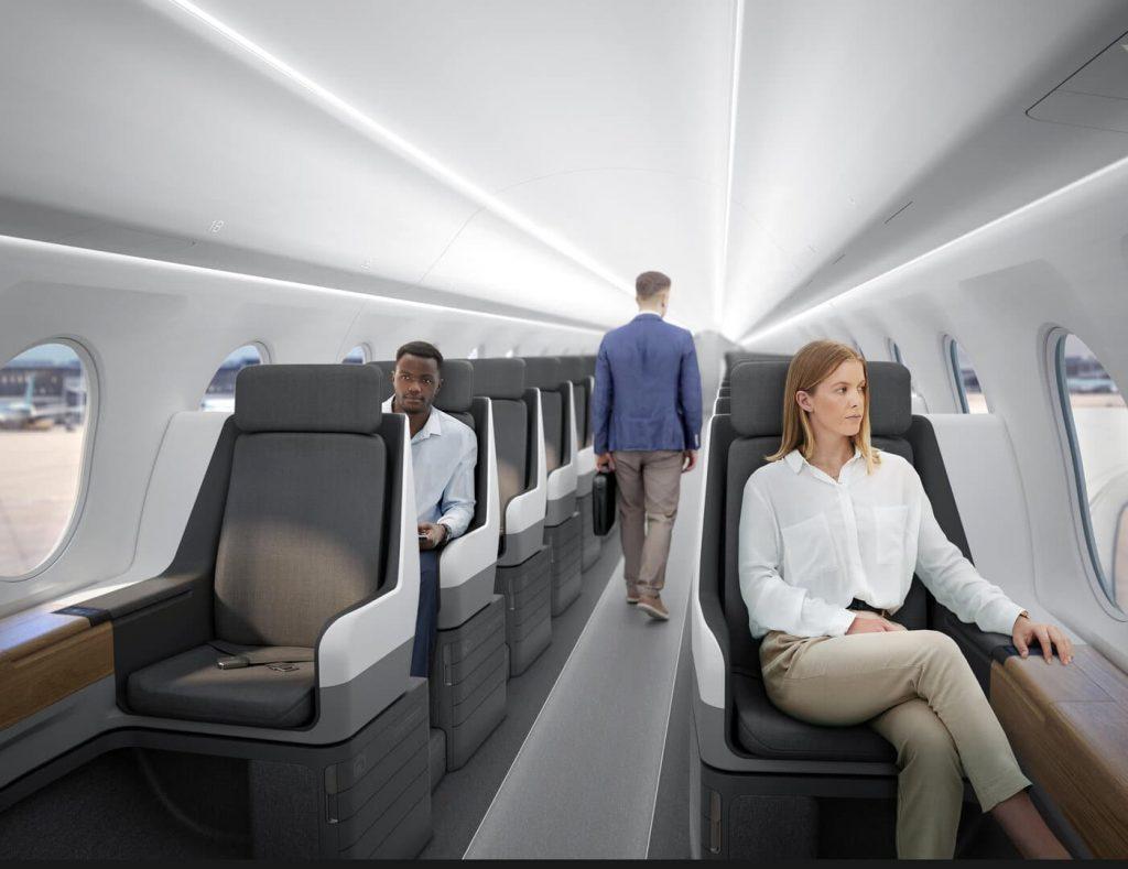 Szuperszonikus repülő Boom Overture United Airlines fedélzet