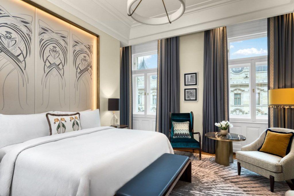 Matild Palace Budapest hotel luxus szálloda szoba