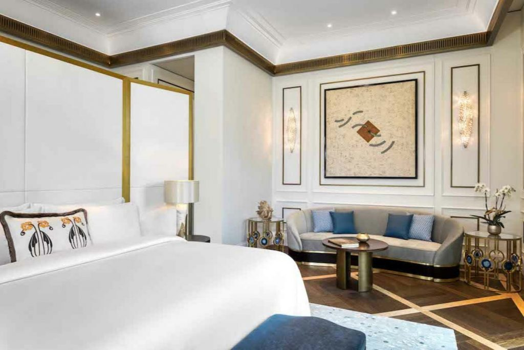 Matild Palace Budapest hotel szoba