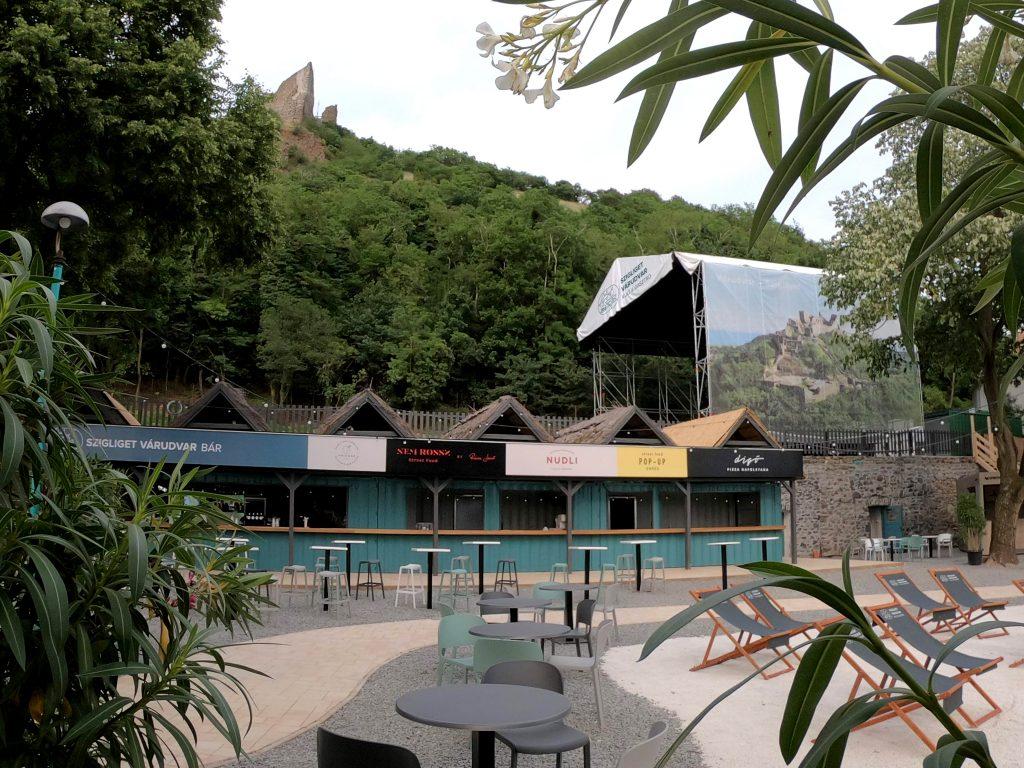 Szigliget Várudvar Michelin csillag Balaton