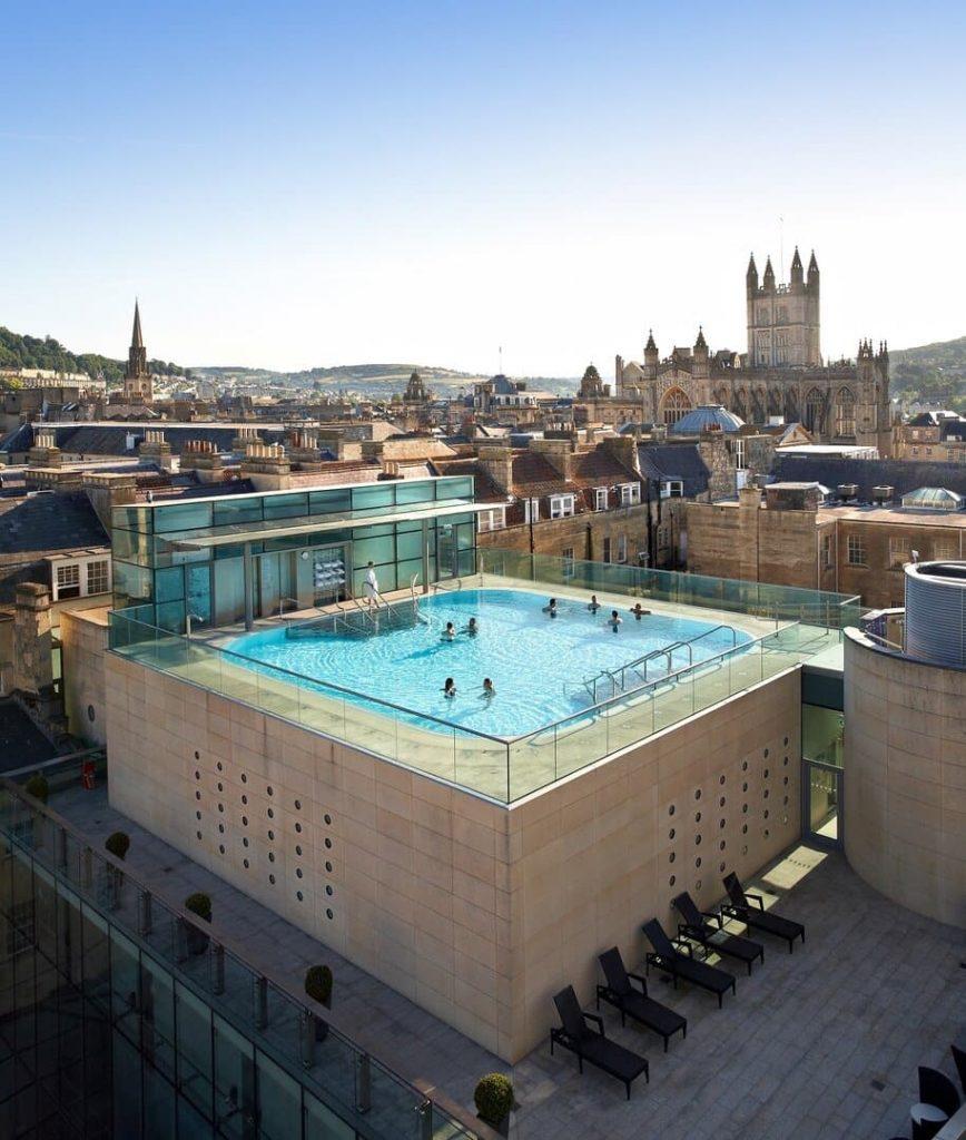 Európa legjobb fürdője Thermae Bath Spa