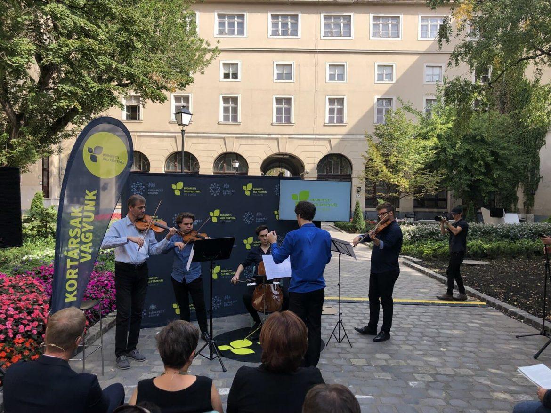 Budapesti Őszi Fesztivál Programok szeptember 26 150 kortárs élmény koncert