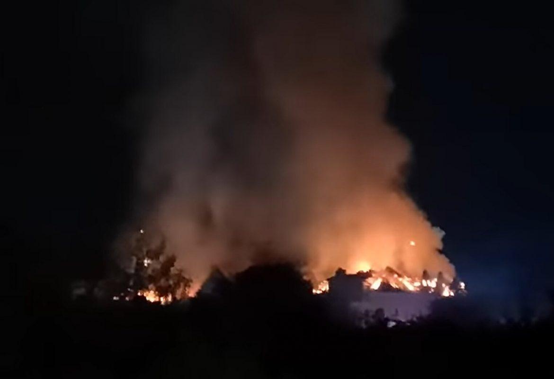 Nyíradony szállodatűz Borostyán Med Hotel tűz leégett tetőszerkezet